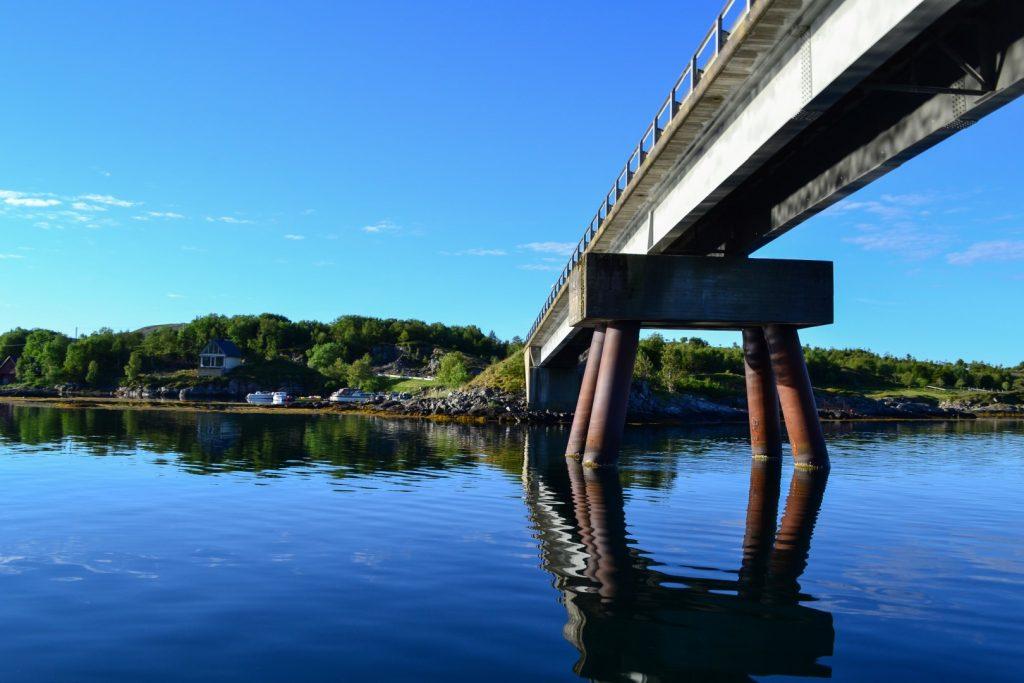 Leka Madsøya Brücke