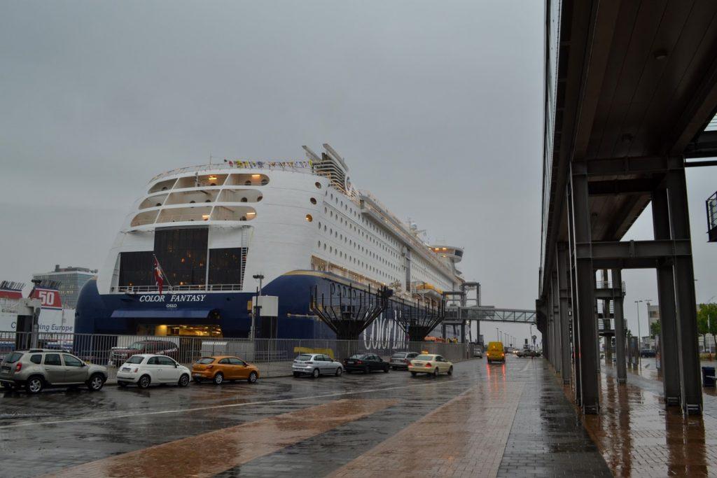 Color Line Fantasy Schiff am Norwegenkai