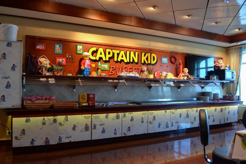 Color Line Schiff Captain Kid Buffet