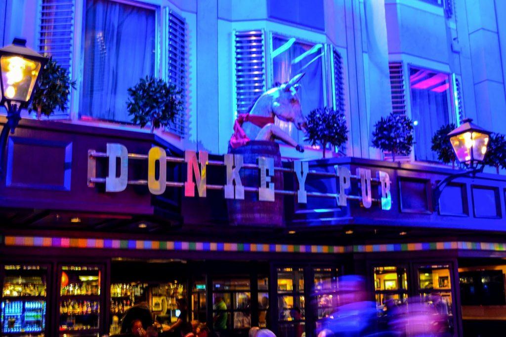 Color Line Fantasy Donkey Pub